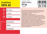 Foodclean DES 42 desinfectiemiddel voor dierverbijfplaatsen en veetransportmiddelen