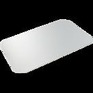 Aluminium karton deksel 194x129mm voor 910ml bak