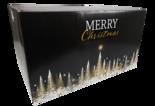 Kerstpakketdoos, Karton, 39x55x30cm, Gold