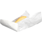 Kaasvellen wit onbedrukt 40x32cm