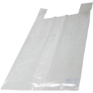 Hemdtas LDPE transparant 37x17x70 cm