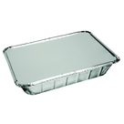 Aluminium bak 210x150x40mm 930ml met deksel