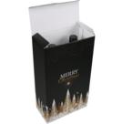 Wijnfles kerstdoos GOLD 2 fles 189x93x327mm