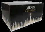 Kerstpakketdoos, Karton, 45x35x23cm, Gold