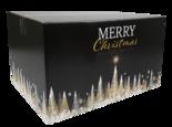 Kerstpakketdoos, Karton, 39x29x23.2cm, Gold