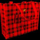 Kerstshopper draagtas 45x15x36cm