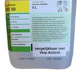 Foodclean DES50 oppervlakte desinfectie