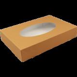 Cateringdoos BIO kraft/pla bruin 45x30x8cm
