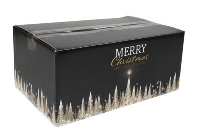 Kerstpakketdoos GOLD 310x200x140