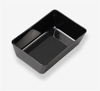 Toonbankbak zwart 220x145x70mm