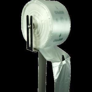 AGF plasticzak op rol 20/9x51cm 8my transparant