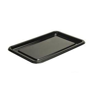 Cateringschalen rechthoekig zwart 45x30cm