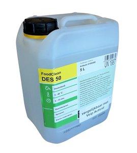 Desinfectiemiddel DES50 vloeibaar voor oppervlakten 5 liter