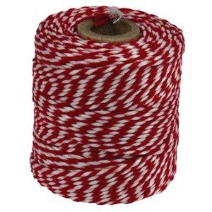 Rolladetouw rood wit dik ACTIE PARTIJ