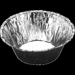 Aluminium bak rond Ø45mm 80ml