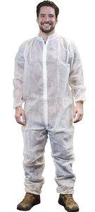 Wegwerp overalls coveralls wit overdoos