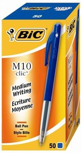 BIC pennen M10 blauw