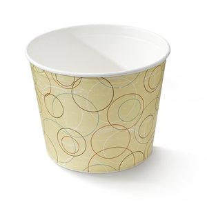 Food bucket karton met coating 3850ml