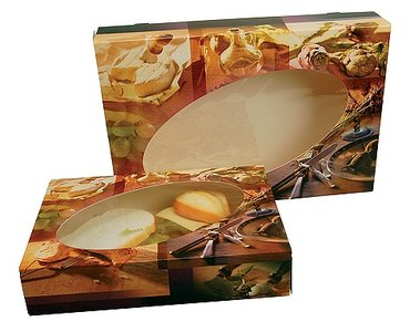 Fondue cateringdoos 28x28x6 cm