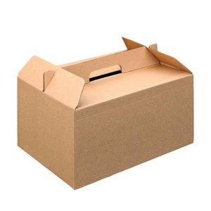 Kraft take away doos met handvat 24,5x13,5x12cm Meest gekozenMeest gekozen Kraft take away doos met handvat 24,5x13,5x12cm