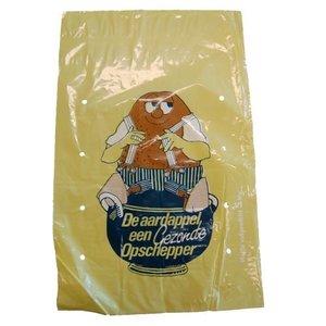 aardappelzak geel