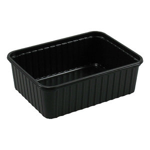 plastic 1000cc bak zwart