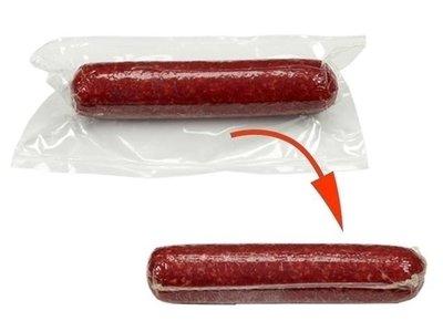 Krimp vacuumzak voor vlees