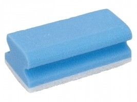 schuurspons blauw