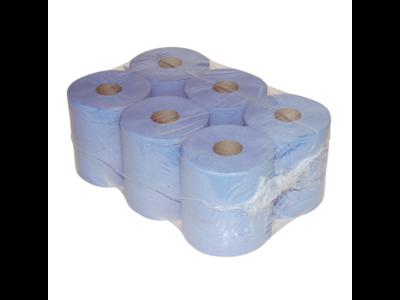 Handdoekrollen midi blauw