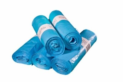 Vuilniszakken blauw 70x110 cm