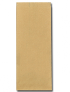 Papieren FSC® snackzak 16+10,5x38cm nr.29 (3 pond) bruin